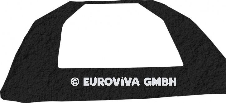 Abdeckung für Euroviva® Klapptrampoline (Schwarz)